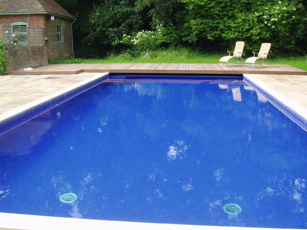 Classic Luxury Outdoor Swimming Pool in Surrey