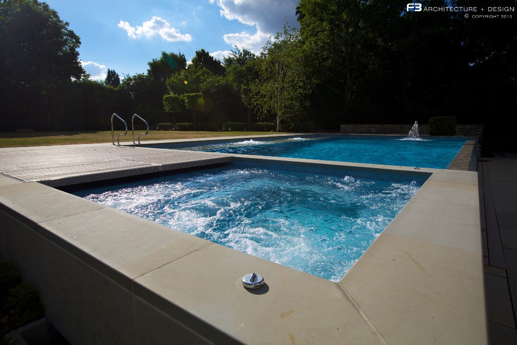 Indoor and Outdoor Swimming Pool Design Hertfordshire