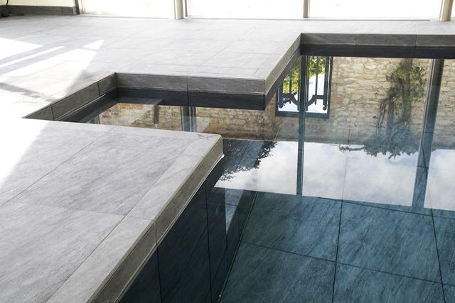 Luxury Hydrotherapy Swimming Pool in Oxfordshire