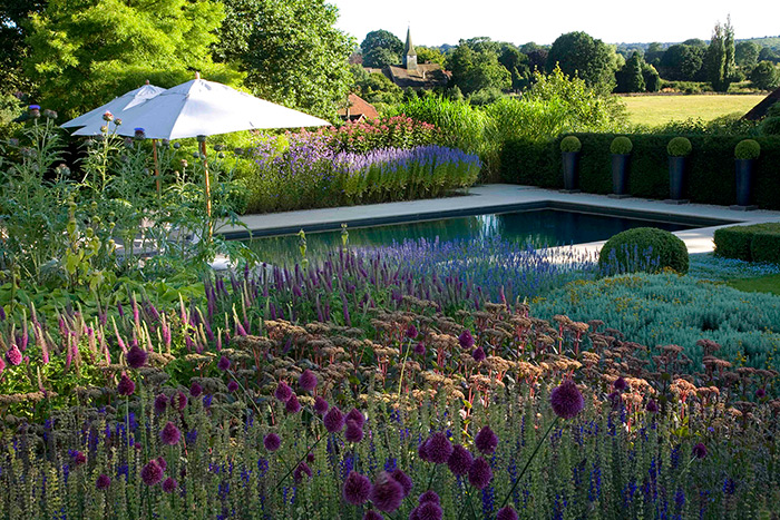Outdoor Swimming Pool Nestled in the Surrey Hills