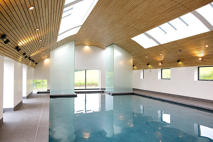 Sussex Eco-Friendly Indoor Swimming Pool