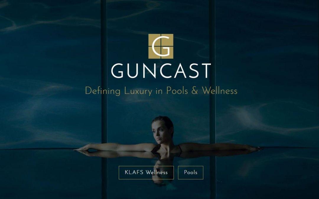 New website for luxury pool ideas, KLAFS saunas & more
