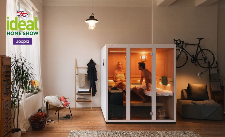The DIY sauna from KLAFS