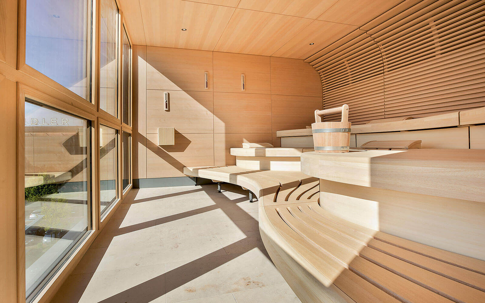 KLAFS Sauna with SANARIUM at Therapeutic Spa
