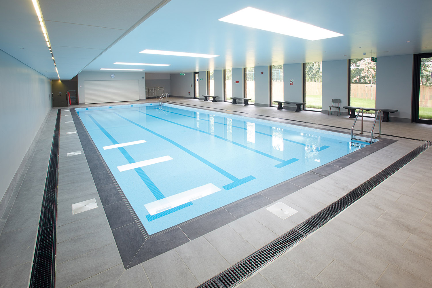 Impressive Indoor Swimming Pool for Kent Prep School
