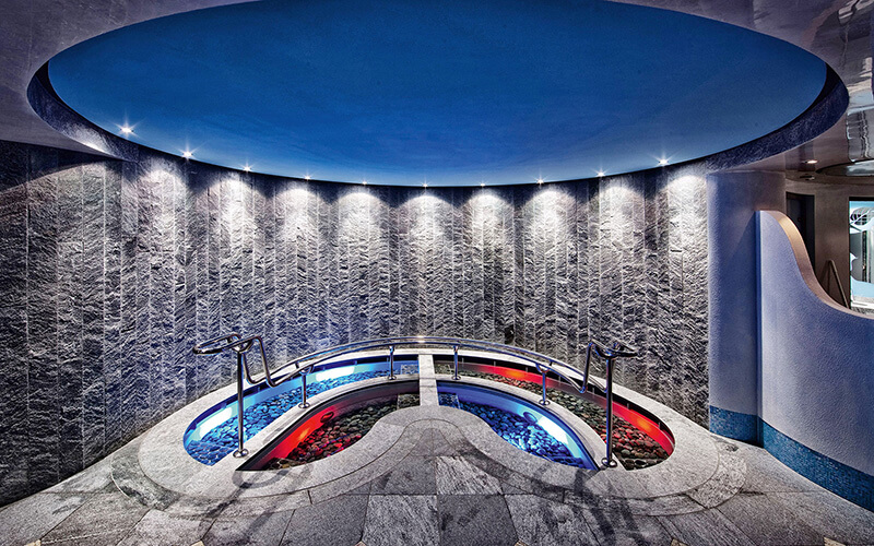 Luxury spa with KLAFS SANARIUM® at Eden Roc