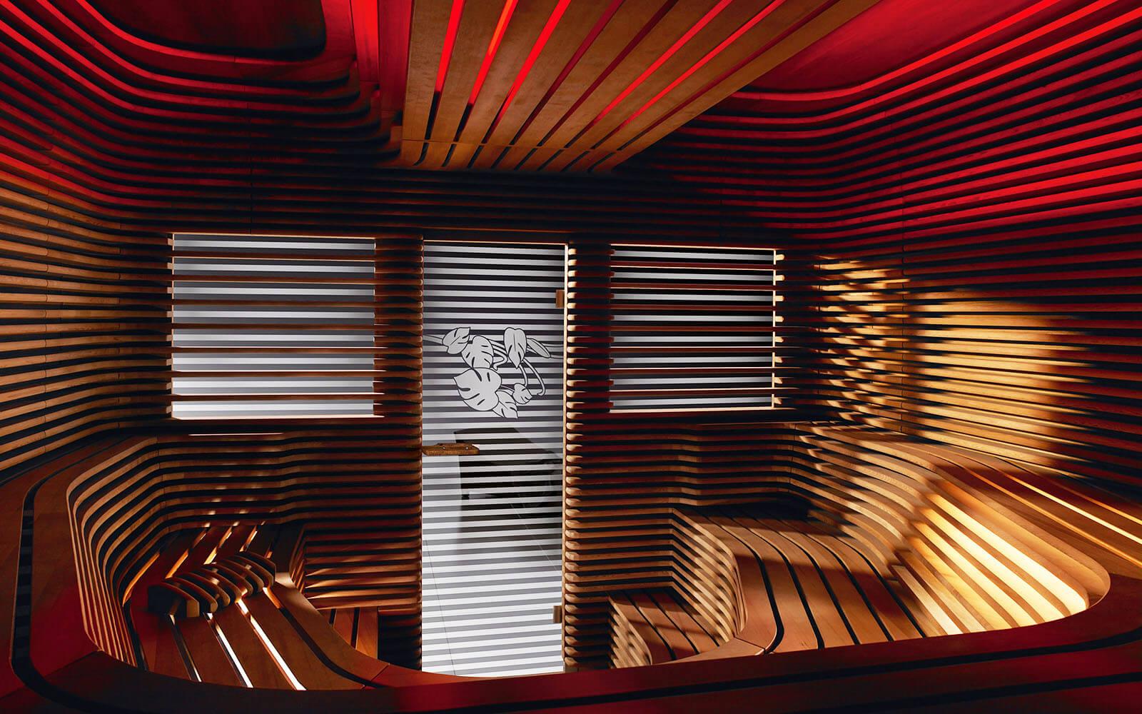 KLAFS Sauna at Roomers Hotel