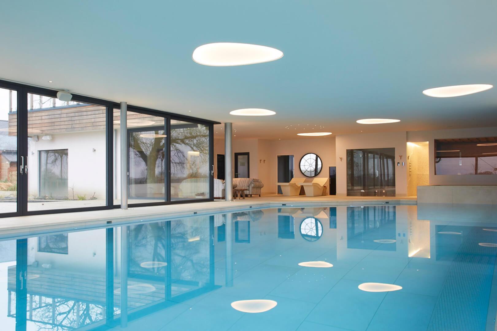 Beautiful Indoor Pool with Luxury Health Suite Facilities