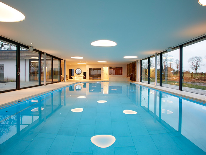 Beautiful Indoor Pool with Luxury Health Suite Facilities