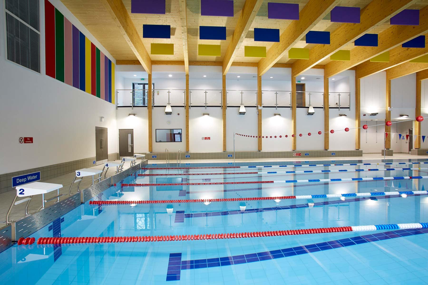 Striking Pool Design for West Sussex School