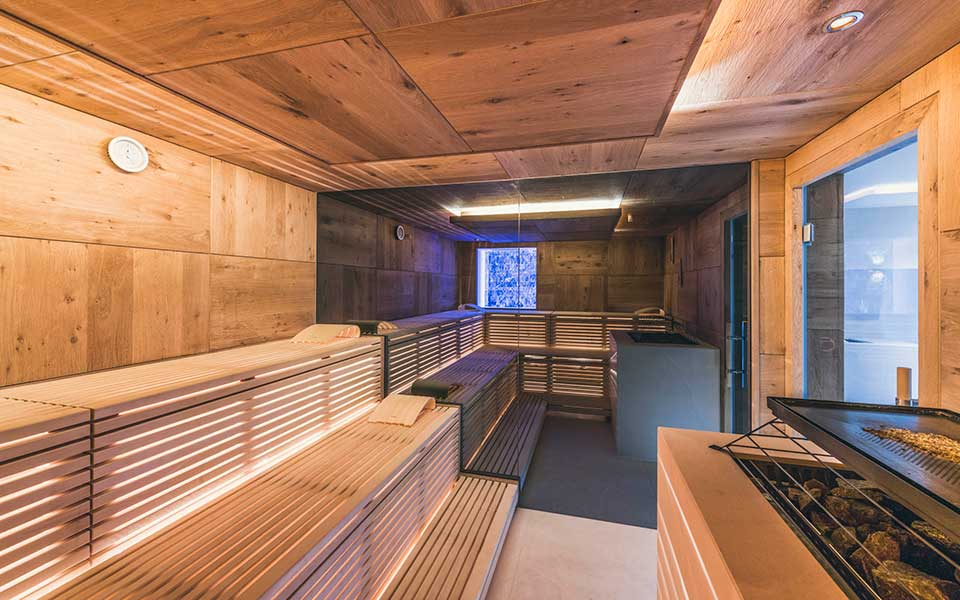 Commercial saunas from KLAFS at Guncast