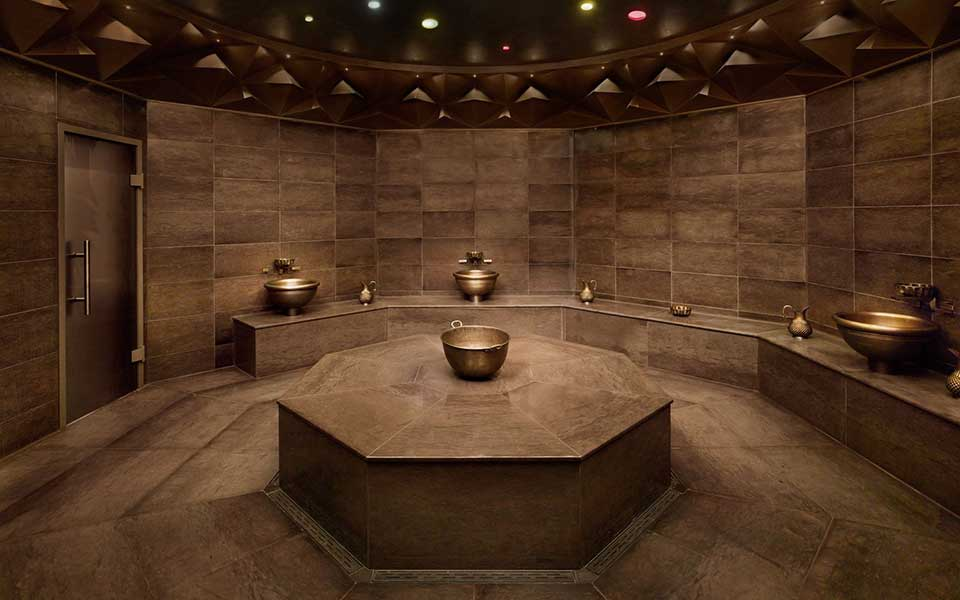 Hamam Turkish baths by KLAFS at Guncast