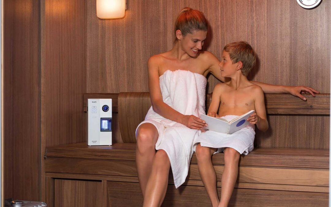 Microsalt for sauna and infrared