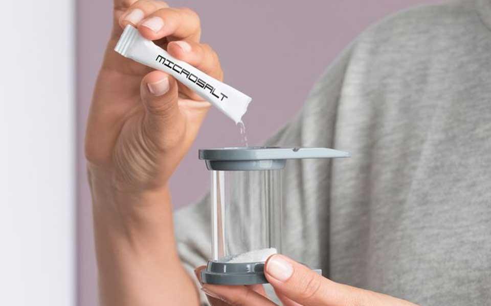 Microsalt for sauna or infrared cabins - salt inhalation room