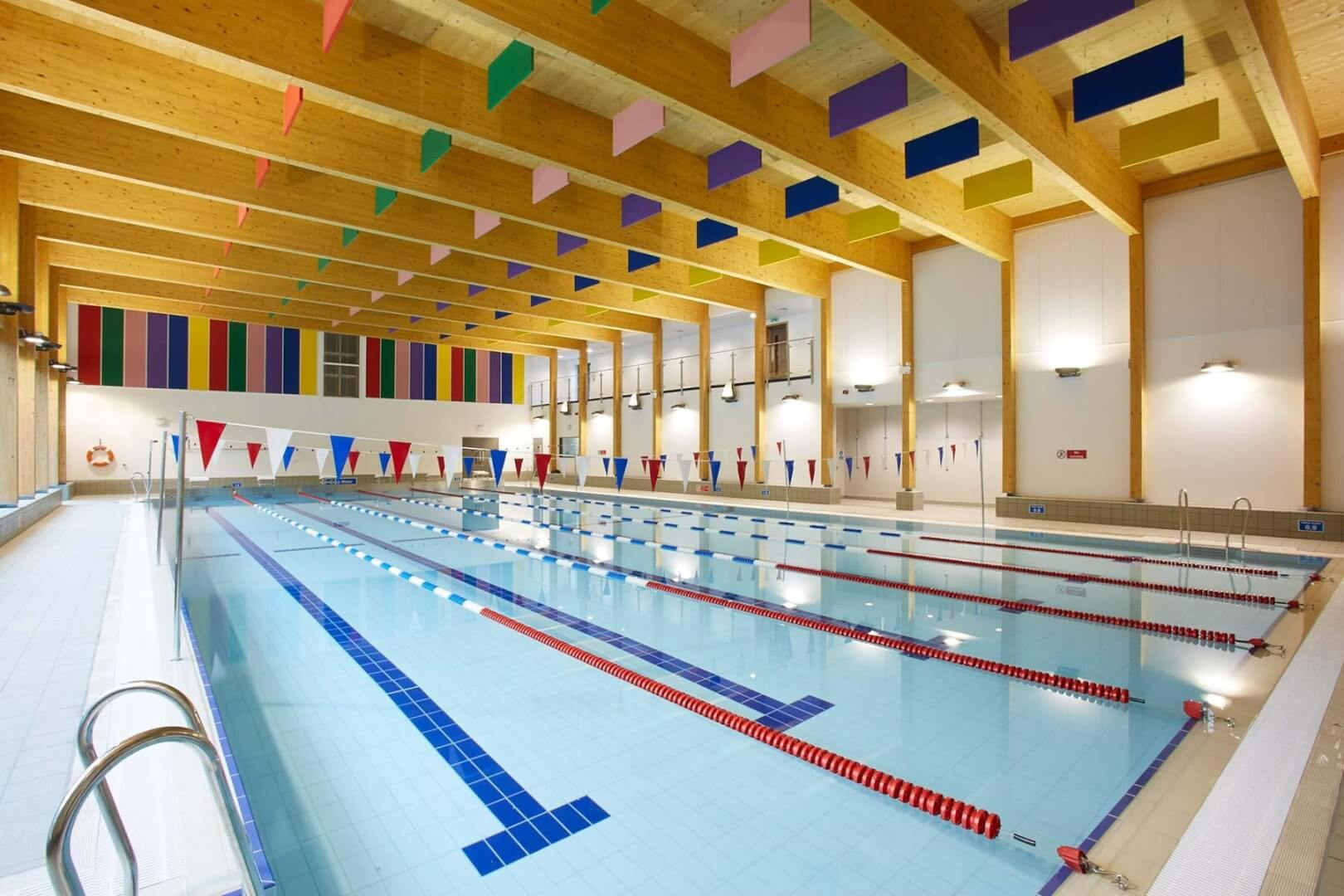 Striking Swimming Pools for Schools