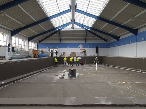 Update on Falkland Islands' Swimming Pool Project