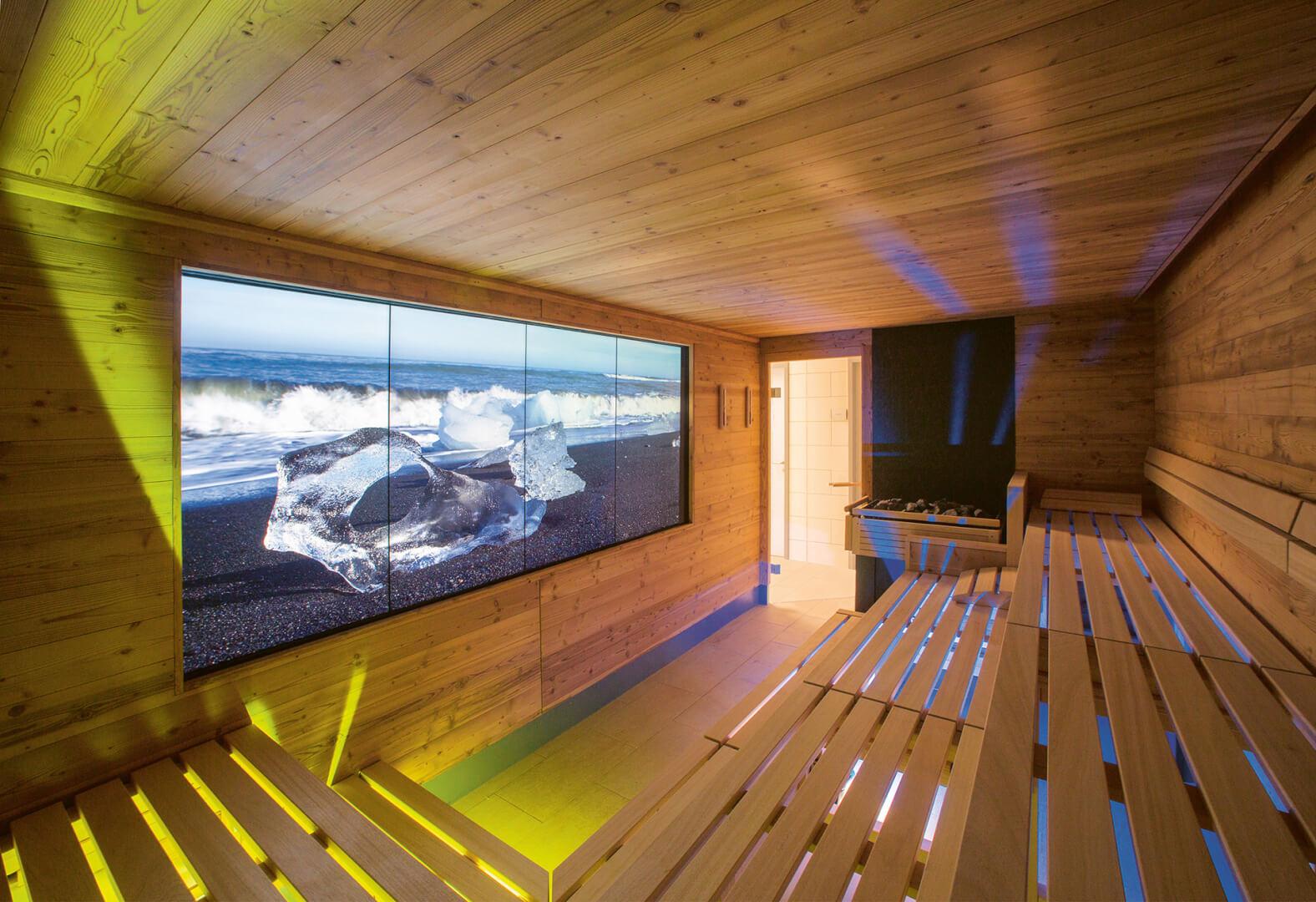 Atmosphere sauna spa screen