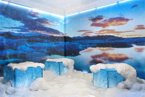 Snow Paradise Cabin form KLAFS at Guncast