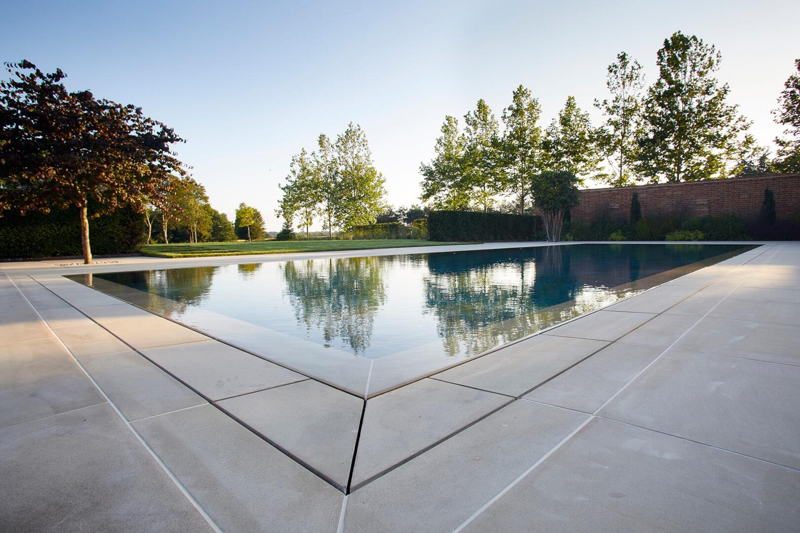 Luxury residential outdoor pool