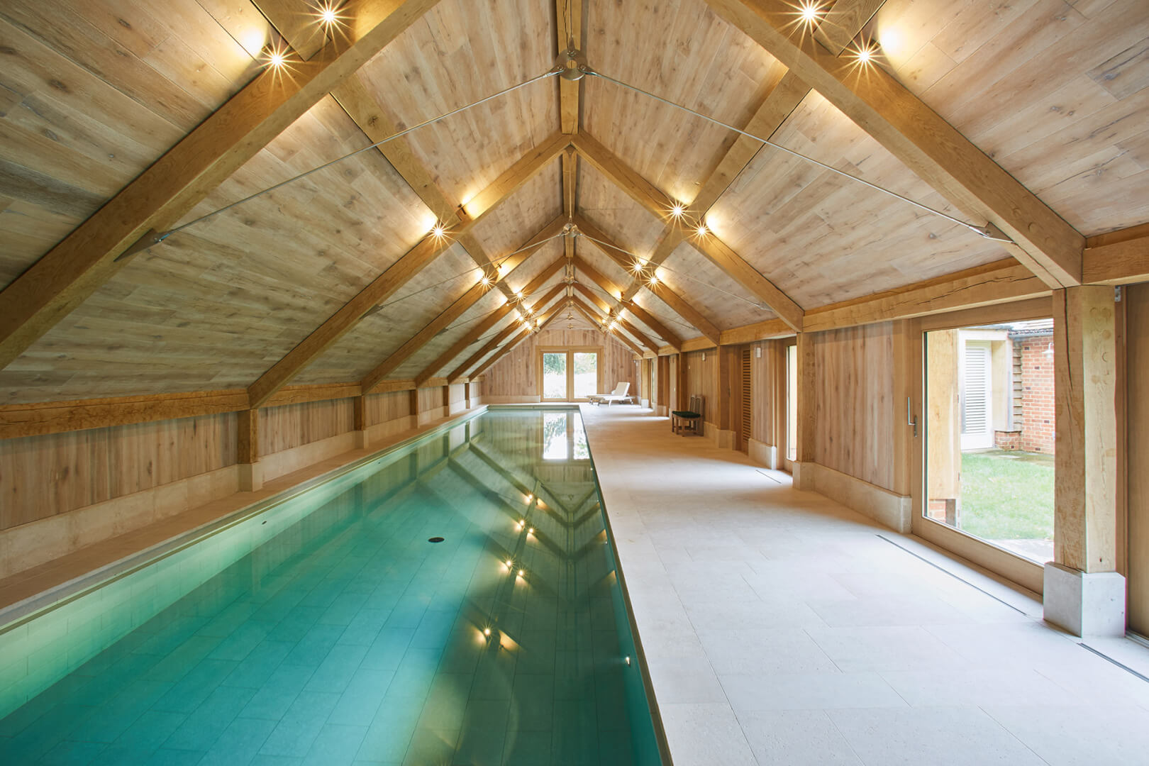 Luxury Residential Indoor pool and outdoor spa