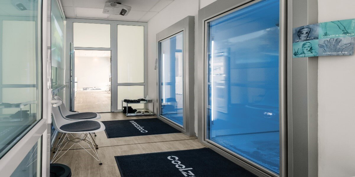 Cryotherapy Experience Lounge